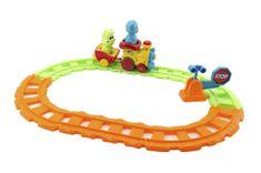 Teddies Vlak/Vláček s vagónky a zvířátky