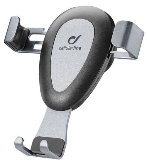 CellularLine Univerzální držák do ventilace Handy Wing Pro, černý HANDYWINGPROK