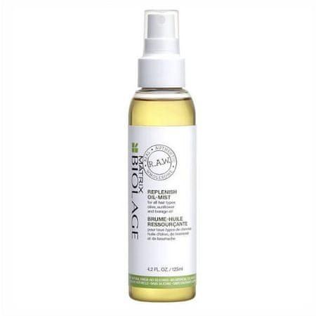 Biolage Vlažilno in negovalno (Oil-Mist) lase Biolage RAW Dopolni (Oil-Mist) 125 ml