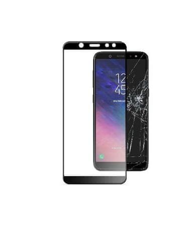 CellularLine zaščitno steklo Capsule za LG Q7, črno