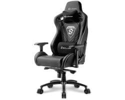 Sharkoon stol Gaming Skiller SGS4, črn