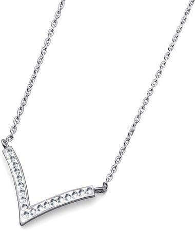 Oliver Weber Ogrlica Sharp 61114 srebro 925/1000