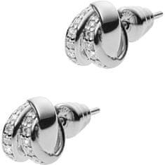 Emporio Armani Ezüst fülbevaló kristályokkal EG3316040 ezüst 925/1000