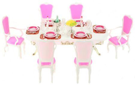 Lamps Glorie Étkezőasztal kiegészítőkkel
