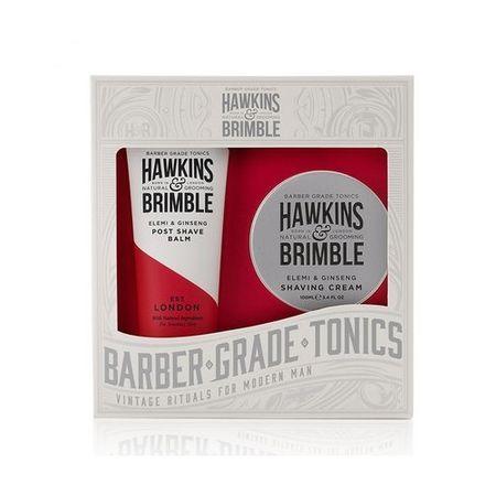 Hawkins & Brimble Borotválkozó ajándékcsomag férfiaknak