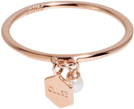 Cluse Ezüst gyűrű, hatszögű és gyöngyös CLJ40007 (Kerület 52 mm) ezüst 925/1000