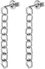 Cluse Ezüst fülbevalók CLJ52009 hatszögletűekből ezüst 925/1000
