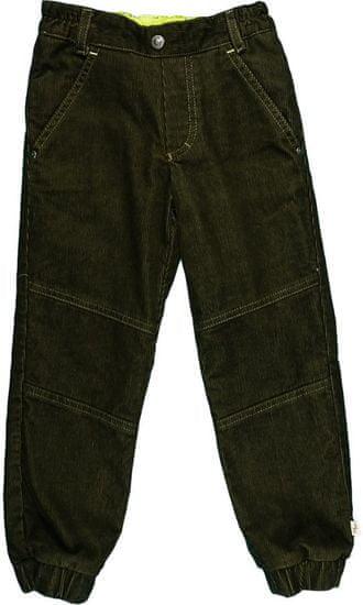 MMDadak chlapecké manžestrové kalhoty 110 sivá