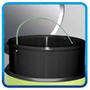 5 - Meliconi Koš na odpadky 30L INOX nerezová ocel - rozbaleno