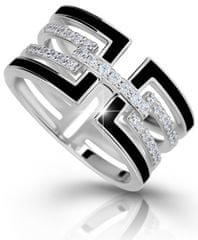 Modesi Luxusní stříbrný prsten M11071 stříbro 925/1000