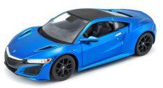 Maisto model samochodu Honda Acura NSX 1:24, niebieski