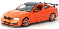 Maisto BMW M4 GTS narancssárga 1:24