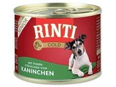 Rinti Gold Senior konzerva pro psy králík 185g
