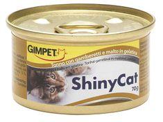 Shiny Cat Konzerva ShinyCat tuňák + kreveta + maltóza, 70 g