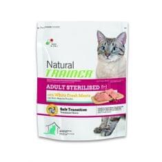 TRAINER Natural Cat Adult Sterilised s drubežím masem 1,5kg