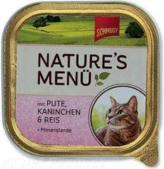 Schmusy Nature paštika kuře+losos 100g