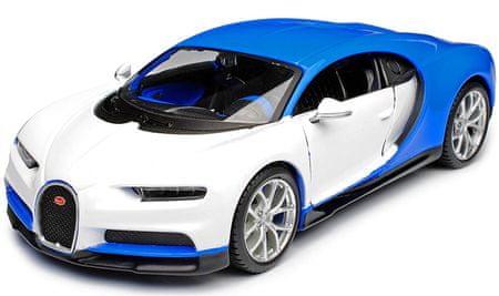 Maisto Bugatti Chiron fehér 1:24
