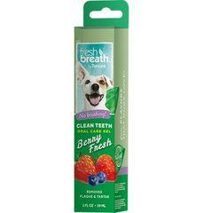 TropiClean Čistící gel na zuby lesní plody 59ml