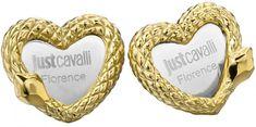 Just Cavalli Nemesacél szív fülbevaló JCER00090300