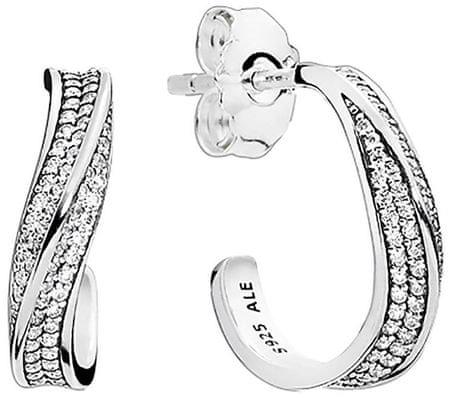 b35b3d032c Pandora Elegáns ezüst fülbevaló 297097CZ ezüst 925/1000 | MALL.HU
