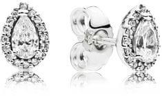 Pandora Csillogó ezüst fülbevalók Slingshot 296252 ezüst 925/1000