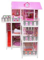 Lamps kuća za lutke trokatnica