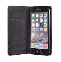 Premium torbica za HTC Desire 12, preklopna, črna
