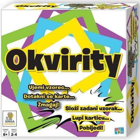 Singa Games družabna igra Okvirity