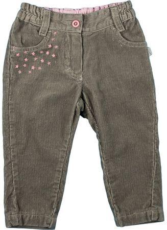 MMDadak hlače za djevojčice Unicorn, 80, smeđe