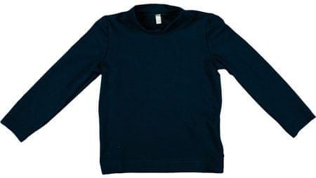MMDadak Koszulka dziewczęca Niedźwiadek 80 niebieski