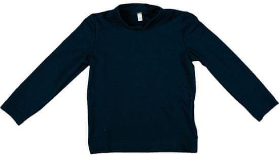 MMDadak dívčí tričko Medvídek 80 modrá
