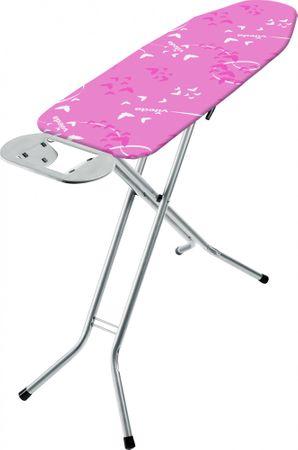 Vileda Bravo žehlicí prkno 120 × 38 cm růžové