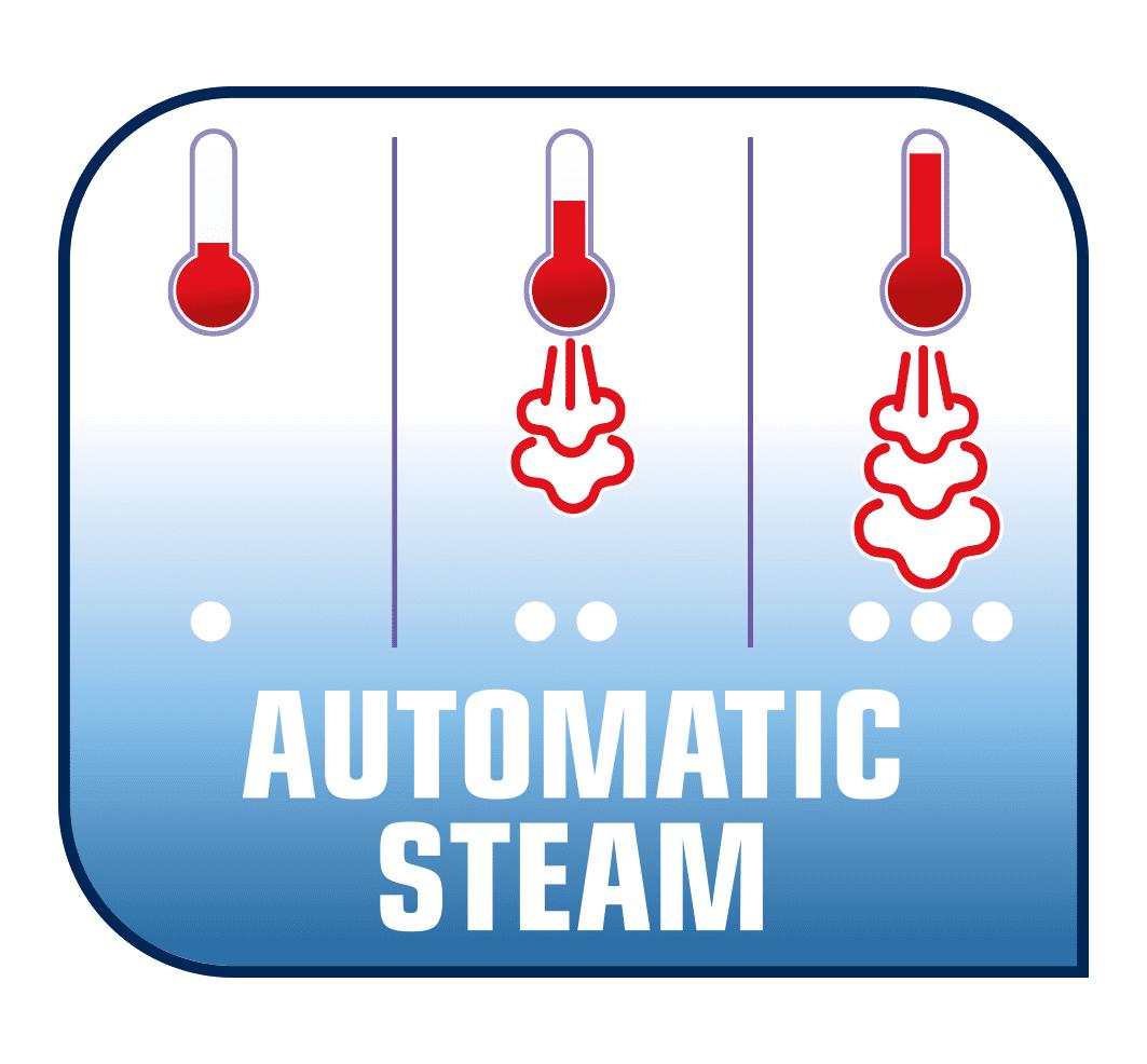 Tefal FV9834E0 Ultimate Pure Automatic Steam Ne morate brinuti o postavkama pare