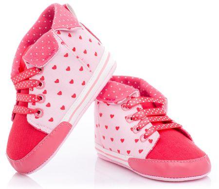 Attractive cipele za djevojke sa srcem, 18.5, roza