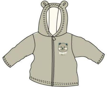 Carodel Fiú pulóver medvével 56 szürke
