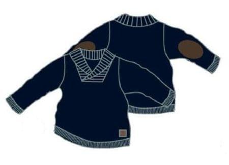 Carodel fiú pulóver kék 74
