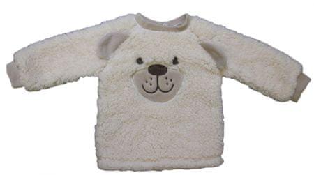 Carodel fantovska majica z motivom medvedka, 62, bež