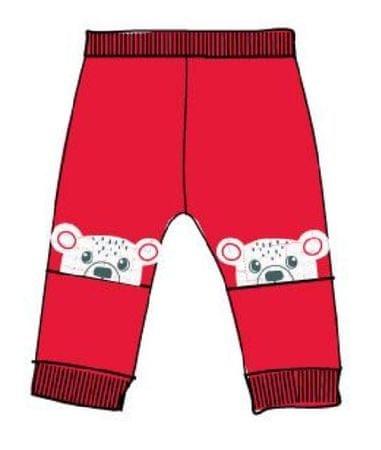 Carodel fantovska trenirka z motivom medvedkov, 62, rdeča