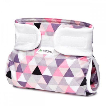 T-Tomi Abdukční kalhotky, pink triangles 3-6 kg