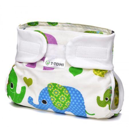T-tomi Abdukčné nohavičky, green elephants 5-9 kg