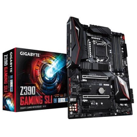 Gigabyte osnovna plošča Z390 GAMING SLI, DDR4, USB 3.1 Gen 2, LGA1151, ATX