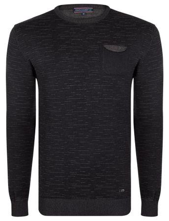 FELIX HARDY sweter męski L czarny