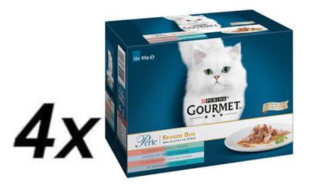Gourmet Perle multipack hrana za mačke 4x (12 x 85 g)