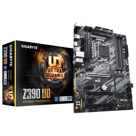 Gigabyte osnovna plošča Z390 UD, DDR4, USB 3.1 Gen 1, LGA1151, ATX