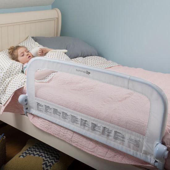 Summer Infant Jednostranná zábrana na posteľ biela