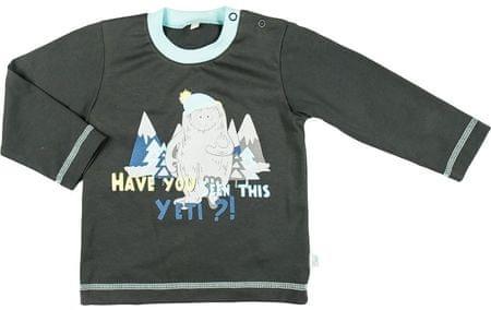 MMDadak Yeti fiú póló 74 szürke