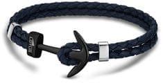 Lotus Style Bőr horgony karkötő LS1832-2/7