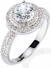Morellato Luksuzni srebrni prstan Tesori SAIW08 srebro 925/1000