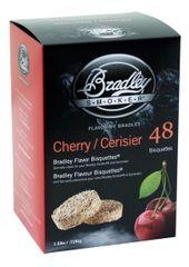 Bradley Smoker Třešeň 48 ks - Brikety udící