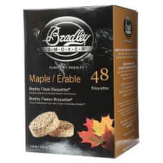 Bradley Smoker Brikety na údenie Javor 48 ks